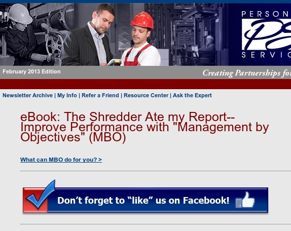 Free eBook: MBO for 2013